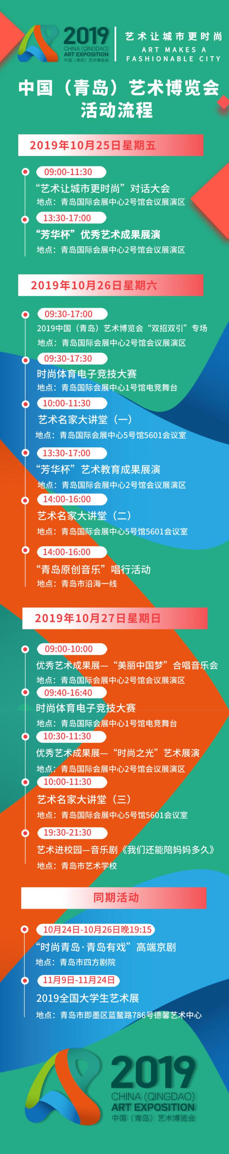 免费看!中国(青岛)艺博会25日开幕,观看全攻略来了!