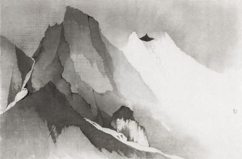 山水里寻宋迹,焦虑中觅宁静:沈勤个展在广东美术馆展出