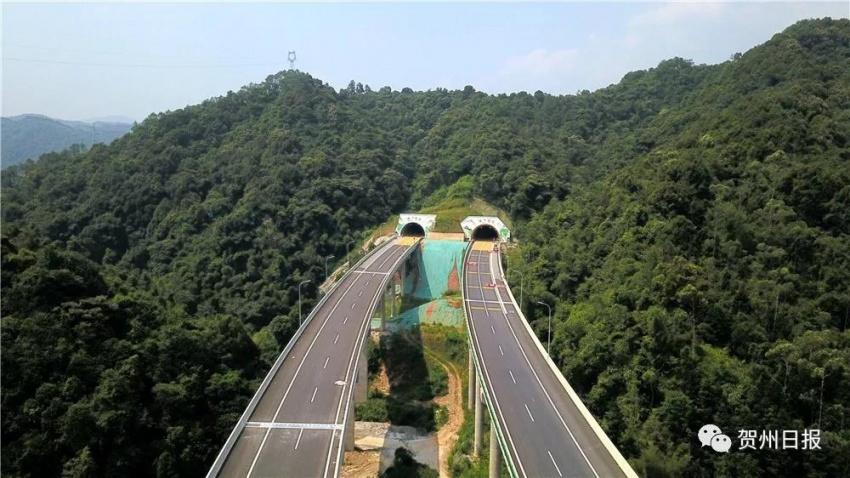 提前一年多时间 贺巴高速(钟山至昭平段)9月29日通车