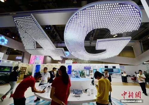 资料图:4G网络。 中新社记者 张斌 摄