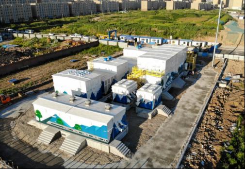 轨道交通领域首套模块化全预制舱变电站成功送电