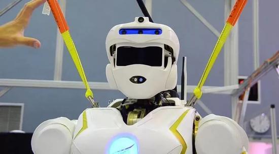 美国研发的火星机器人。