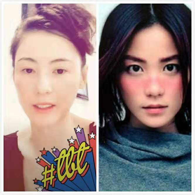 张柏芝素颜照撞脸王菲 谢霆锋的审美还是相似_m.y2ooo.com