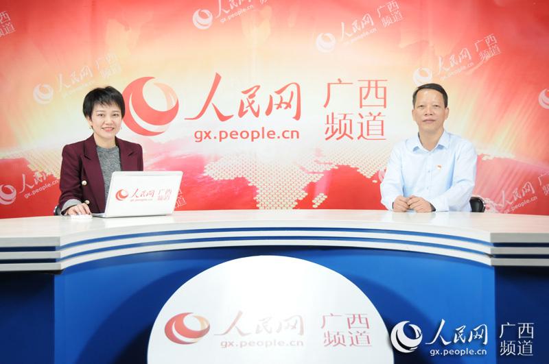 人民网专访广西住房城乡建设行业社会组织党委书记叶云