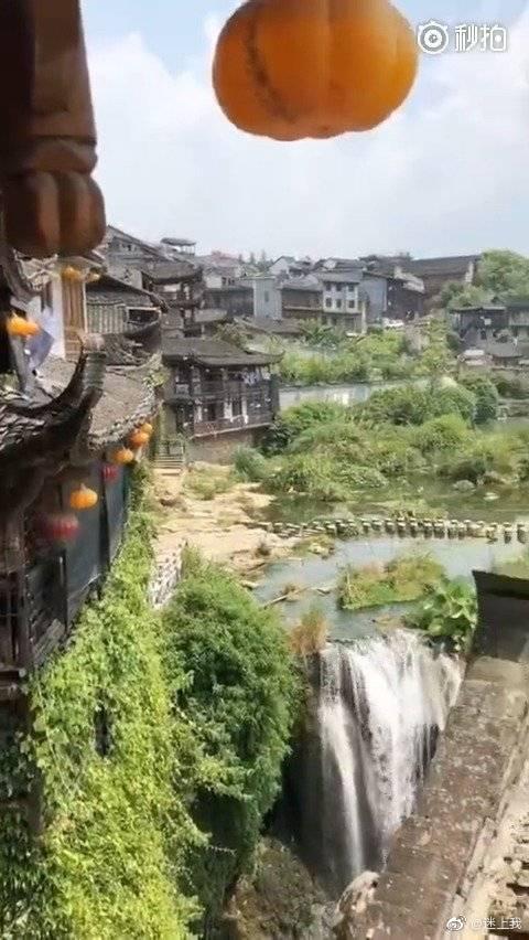 湘西芙蓉镇, 很火的地方!