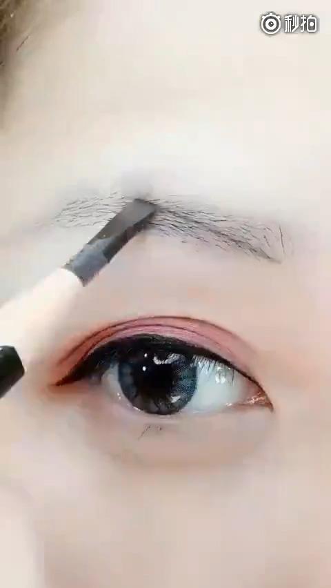 【画眉教程】超简单的画眉方法,快点get起来[爱你]