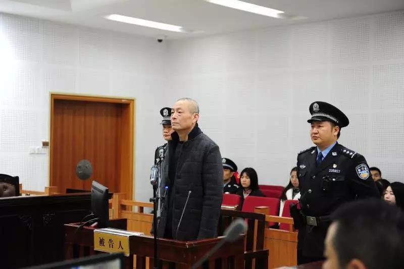 徐祖萼在法庭上。