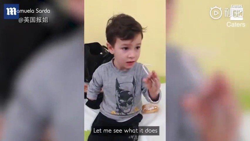 失去右臂的小男孩,得到了人生中第一支仿生手臂