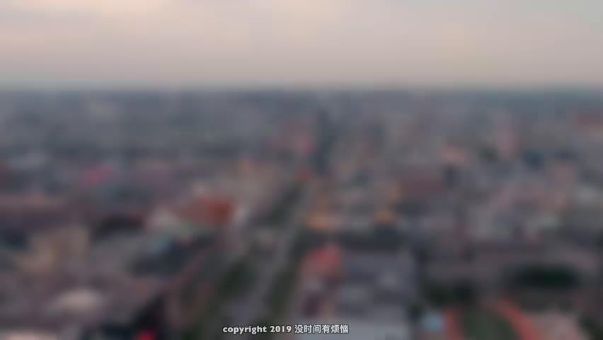 高清航拍西安永宁门、大雁塔、大唐芙蓉园、曲江池、大唐不夜城