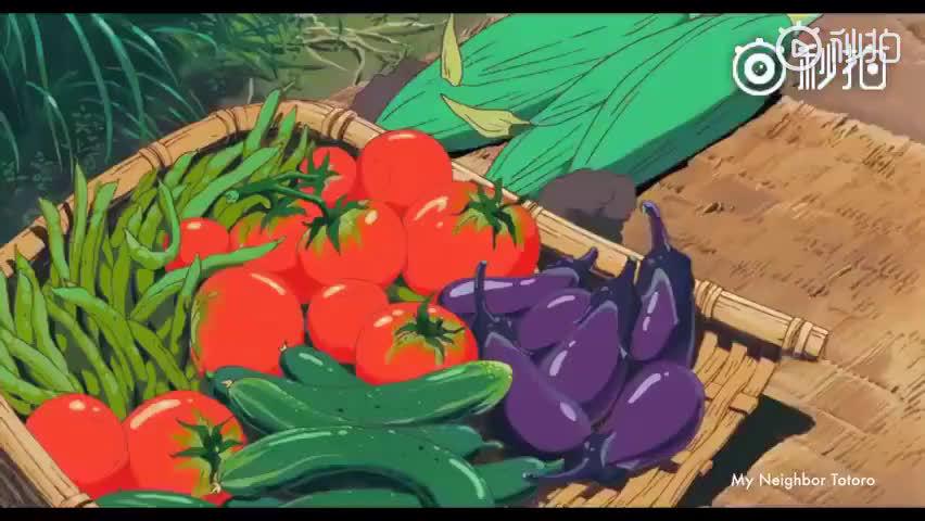 吉卜力动画电影中的美食合集,食物能治愈孤独