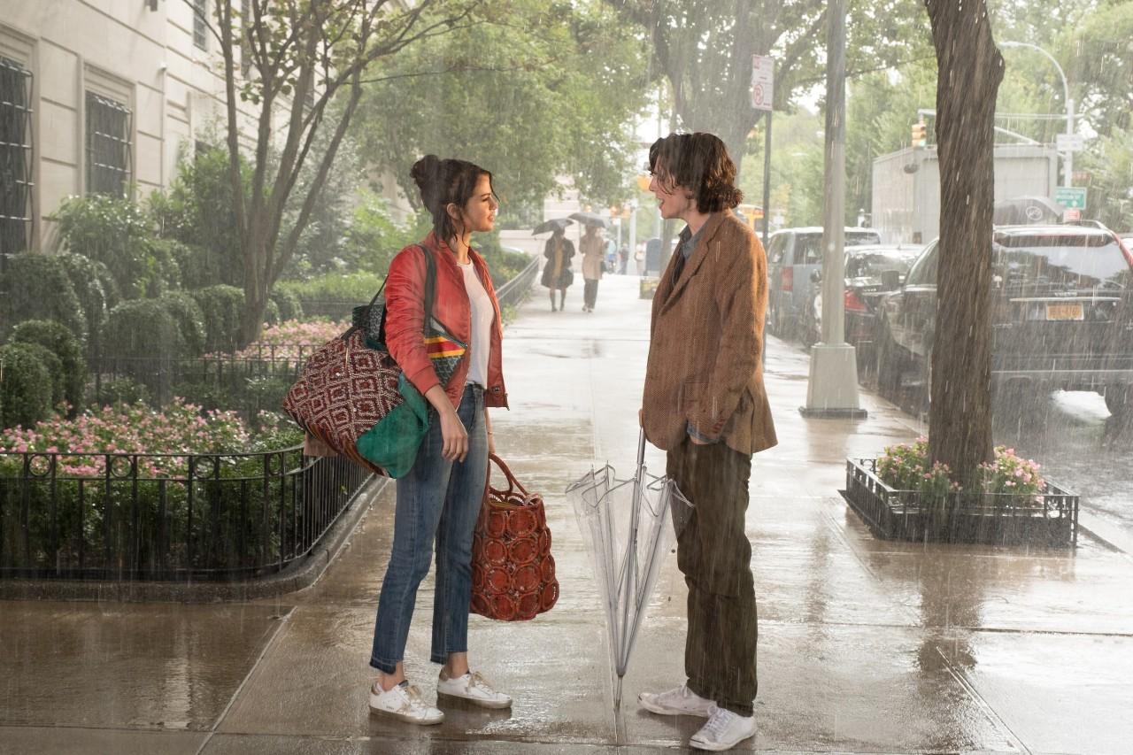 假期最开心的事:看了伍迪·艾伦的《情迷纽约下雨天》