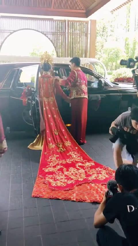 别人家的婚礼,欲戴皇冠必承其重!