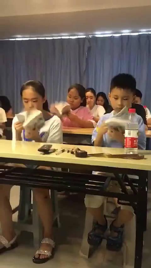 家长群里发来的过目不忘训练班视频!