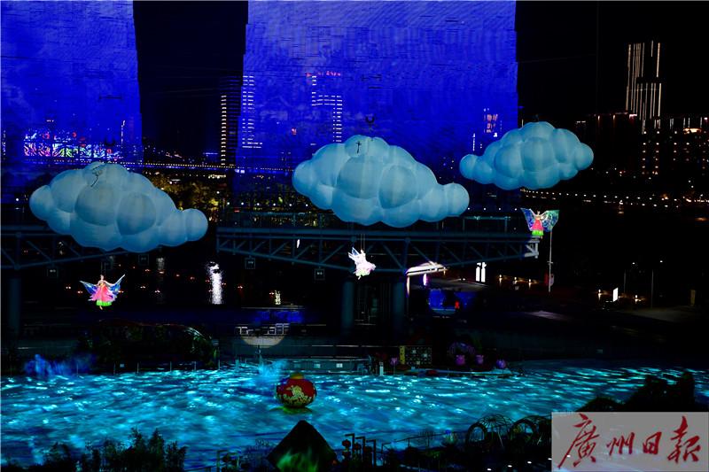 火 海心沙灯光音乐秀全部约满 没约上的还可 夜游花市