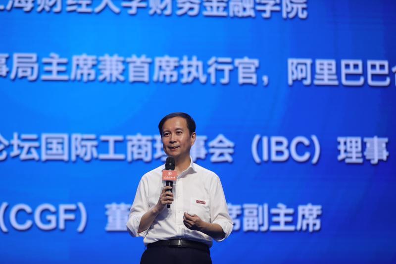 """上海财经大学102周年校庆日,来了一位与""""102""""特别有缘的校友……"""