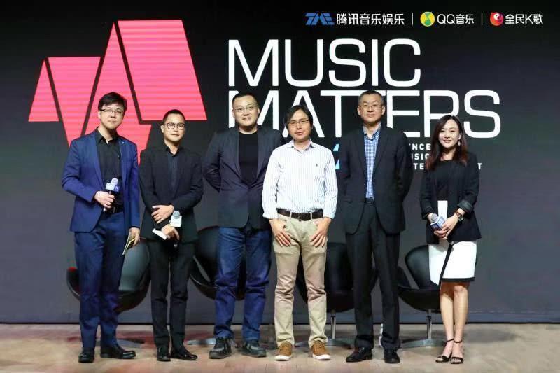 """腾讯音乐副总裁侯德洋:""""科技+服务""""让音乐无处不在"""