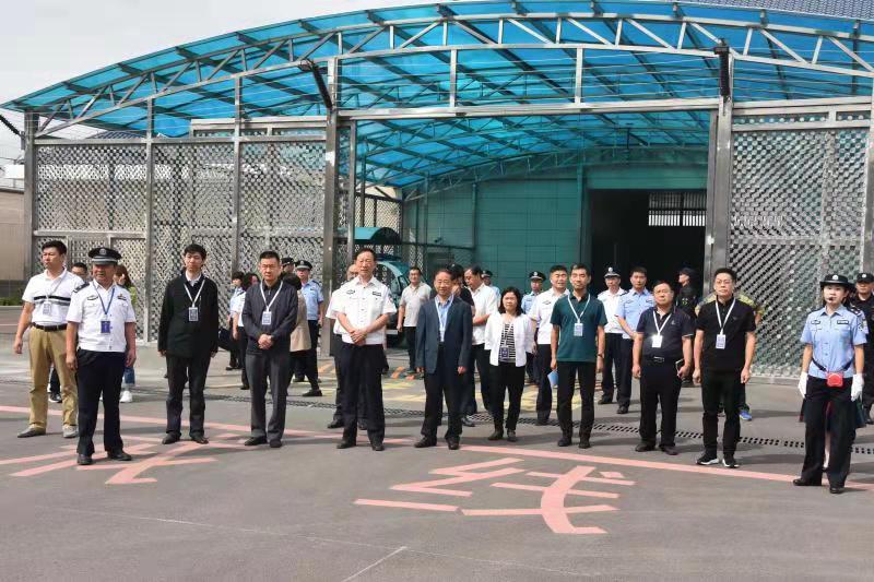 山东省司法厅邀请省政协委员到戒毒场所调研指导工作