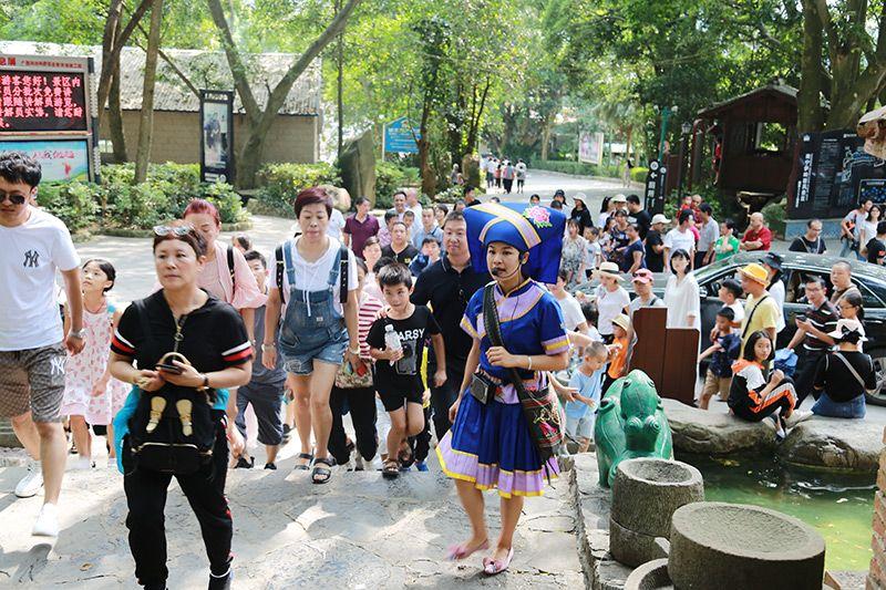 武鸣区国庆假期旅游市场火热:接待游客15余万人 营业收入536万元