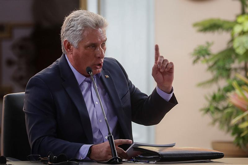 """美国追加制裁,古巴国家主席谴责美""""不人道、残酷、不正当"""""""