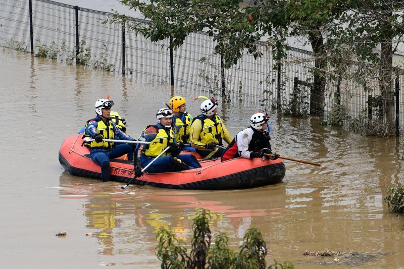 """台风""""海贝思""""袭扰日本,已确认55袋核污染物被水冲走"""