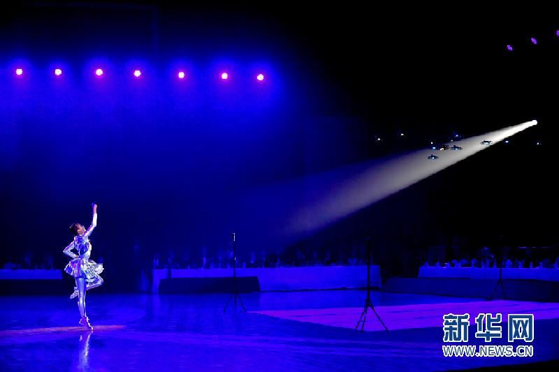 2019年深圳南山粤港澳大湾区体育舞蹈公开赛开幕