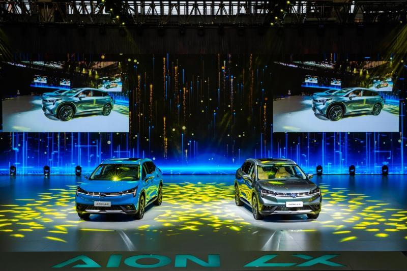 广汽新能源Aion LX(埃安LX)上市 售24.96万元起