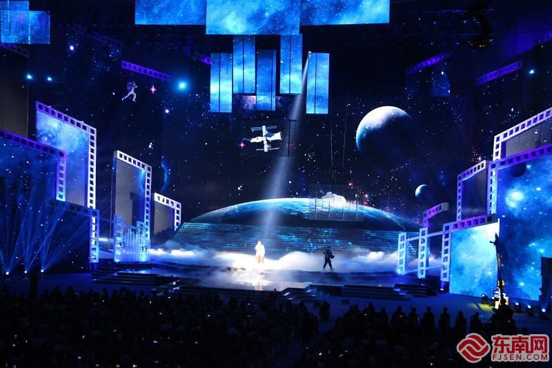 杨宗纬将唱响院线强档《流浪地球》暖心主题曲《星》(东南网记者 卢金福 摄)
