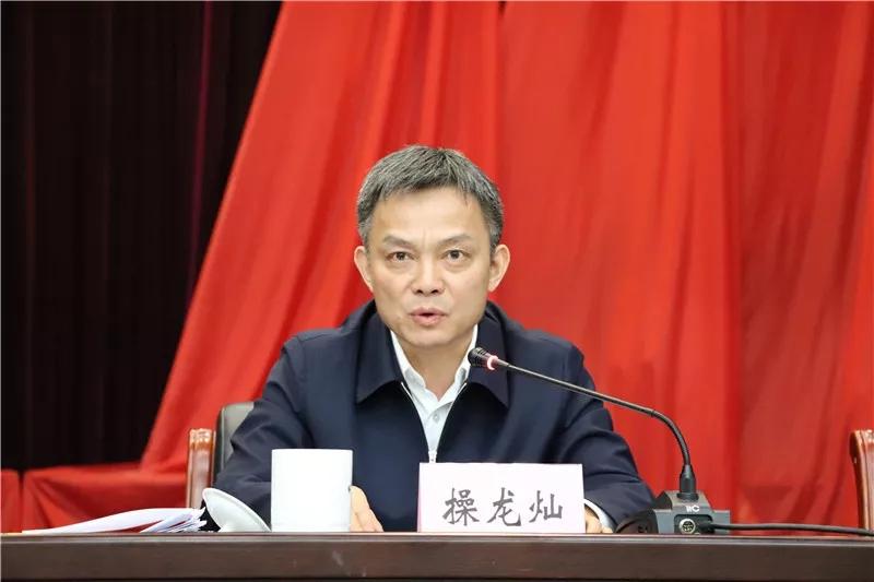 安徽省委宣传部副部长操龙灿任池