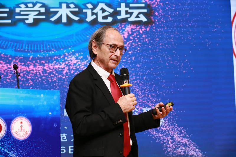 诺贝尔化学奖得主Michael Levitt教授做客第140期大师讲坛