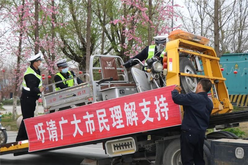 连云港赣榆警方掀起道路交通安全专项整治风暴
