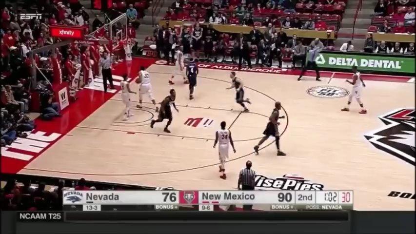 内华达大学66秒狂砍18分强行续命NCAA的麦迪时刻