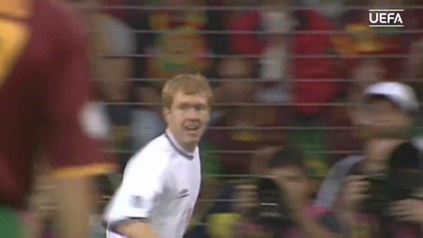 【经典回顾】2000年欧洲杯葡萄牙3比2英格兰。贝克汉姆助攻斯科尔
