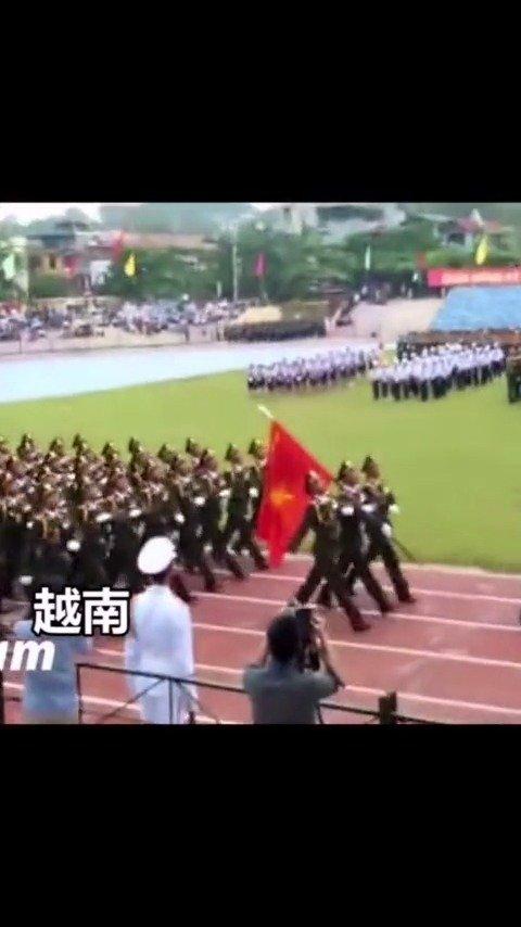 外国阅兵vs中国阅兵