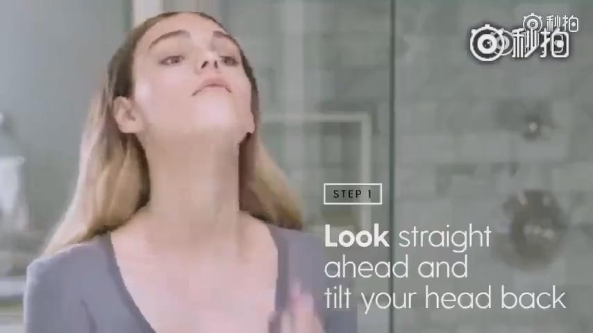 快看!面部抗衰老瑜伽教程