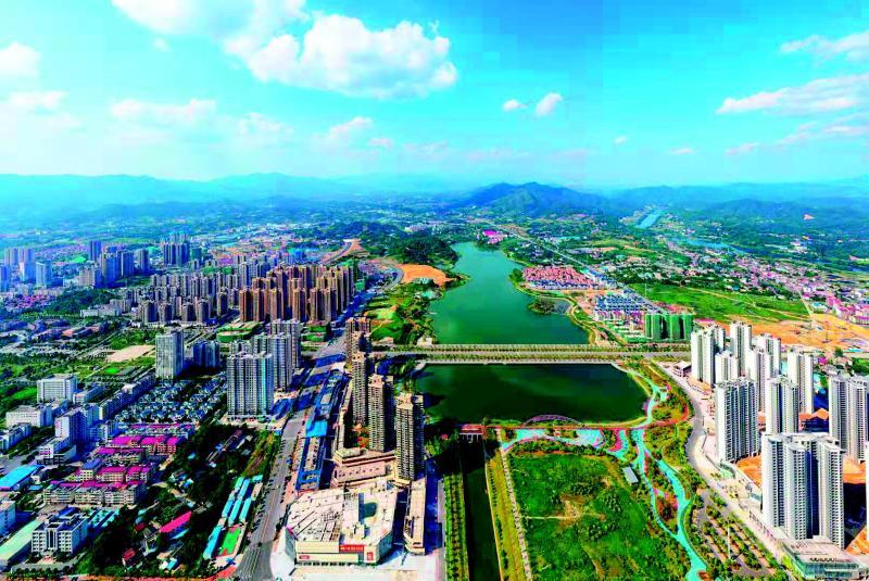 宜居浏阳,构建现代化山水新城