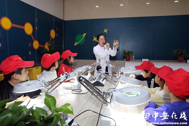 """向日葵开启2019宿松捐赠仪式暨""""寻找巢湖鱼龙""""科学之旅"""