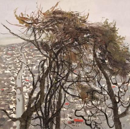 在这百余幅作品中,回望艺术大师吴冠中特立独行的一生