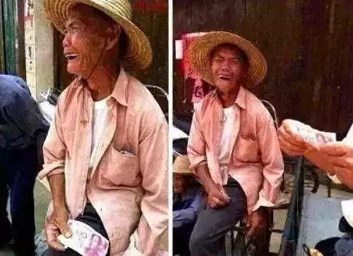 70岁的卖菜老人