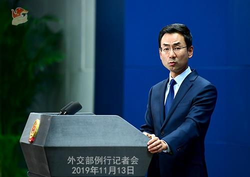 美官员望参院通过支持香港示威者法案 外交部强硬表态