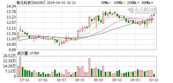 东吴证券:联化科技增持评级