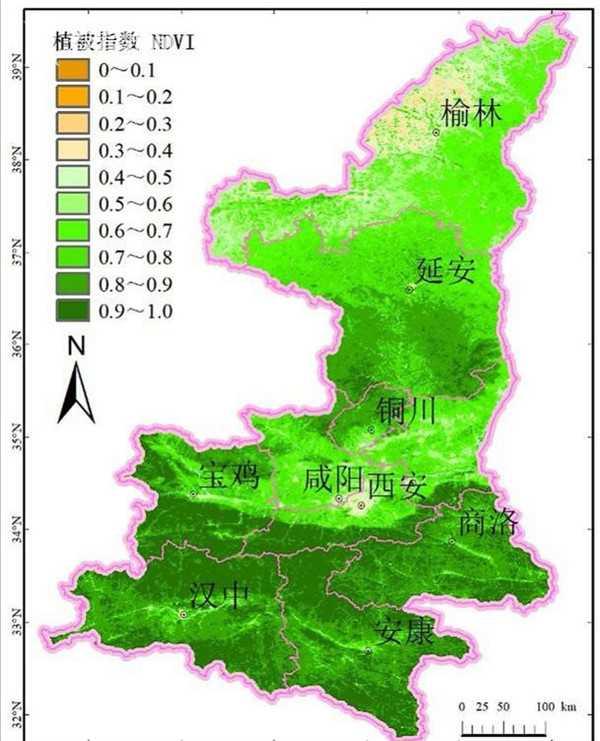 振奋!陕西省的毛乌素沙漠即将消失!图片