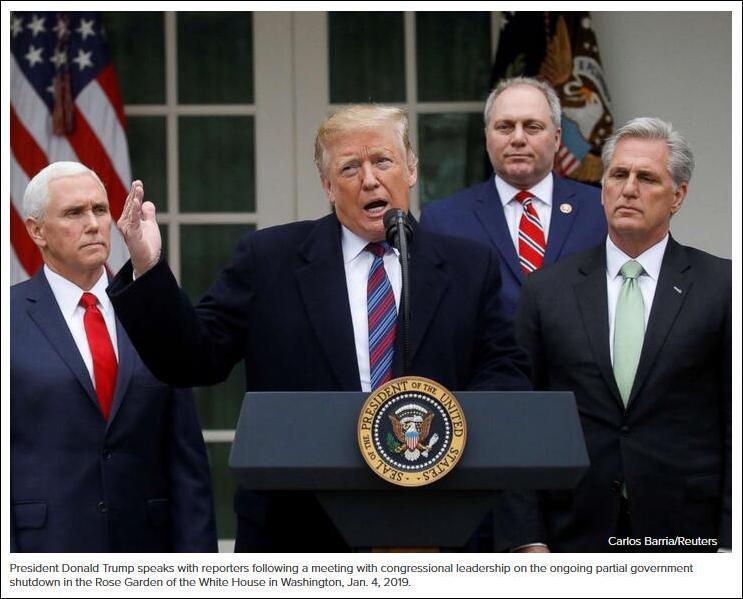 为建墙特朗普拼了:考虑宣布美国进入紧急状态