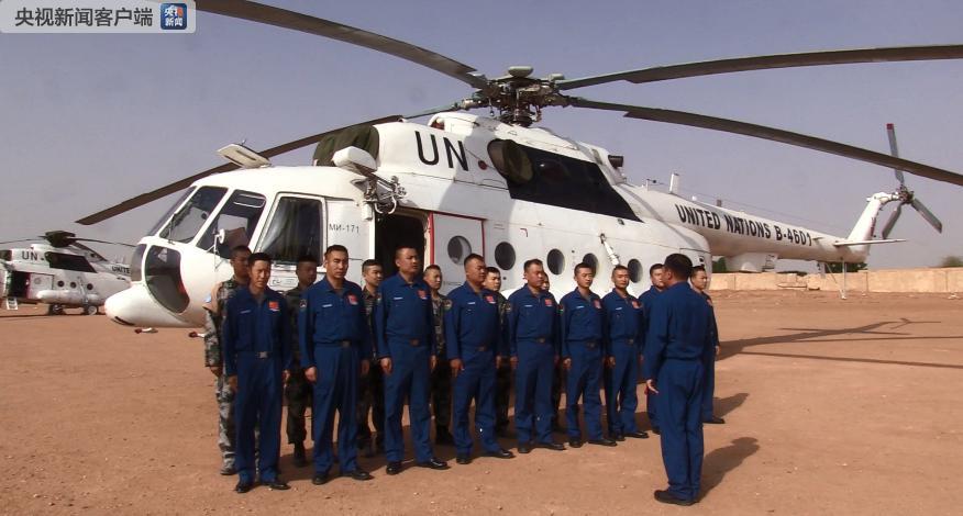 中国首支维和直升机分队归国 曾数十次穿越风沙暴雨博客搬家软件