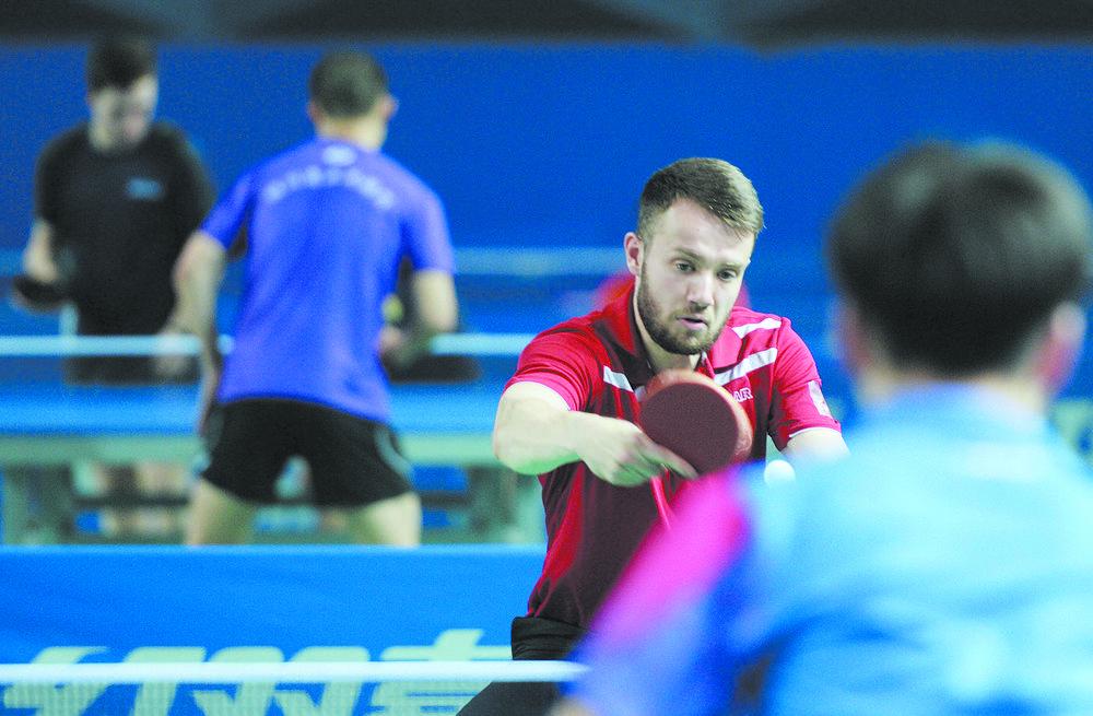 四国邀请赛为2019年乒乓球世界杯预热