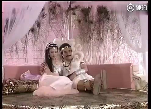 1990年版的《封神榜》,纣王和妲己喜欢一起看艺术体操