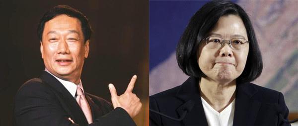 郭台铭参选,对民进党来说福兮祸兮?