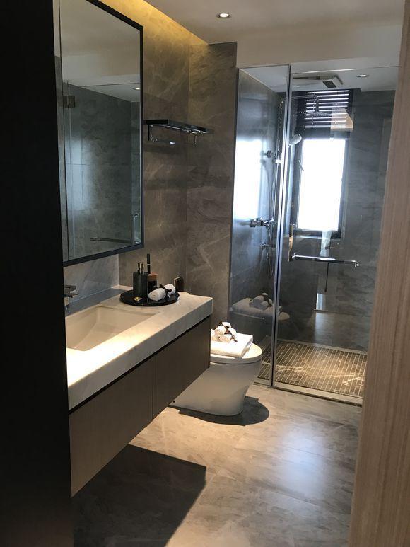 厕所 家居 设计 卫生间 卫生间装修 装修 580_773 竖版 竖屏