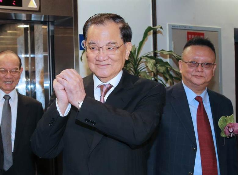 连战将出任韩国瑜后援会总会长 竞总主委仍待定