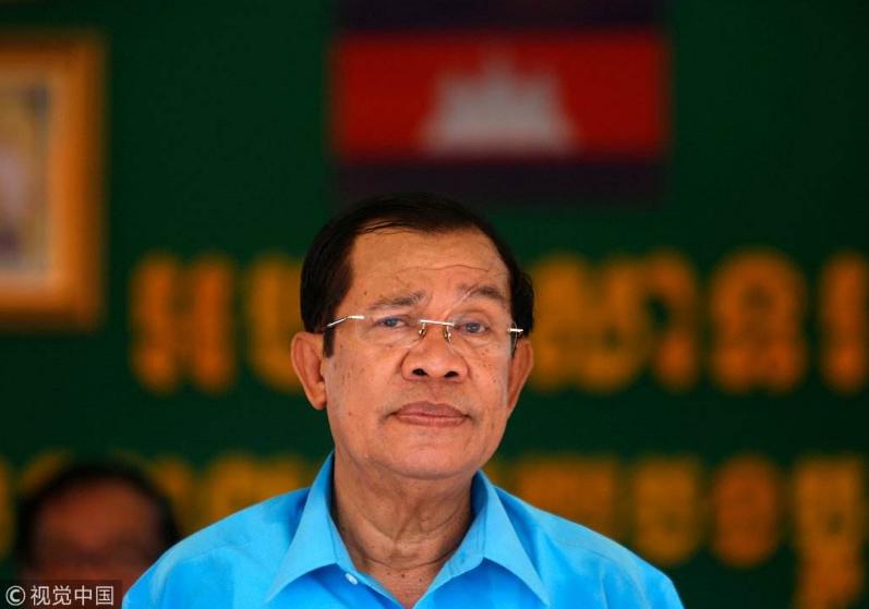 资料图:柬埔寨首相洪森(图源图片