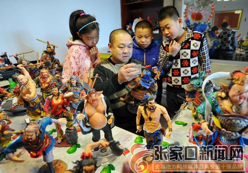 河北宣化:面塑非遗迎新春